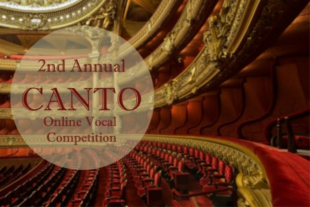 2nd Annual Canto Online Vocal Competition