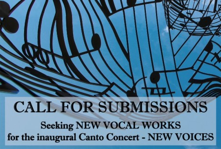 Canto Concert Call for Submissions