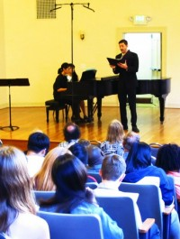 Michael Orlinsky performs at Canto: New Voices